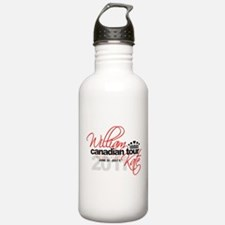 Will & Kate Canadian Tour Water Bottle