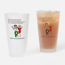 valentine gifts and apparel Pint Glass
