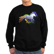 3D Running Horses Sweatshirt