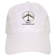 B-52 Peace the Old Fashioned Way Baseball Cap