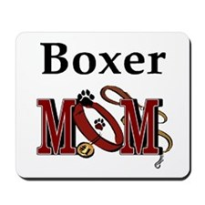 Boxer Mom Mousepad