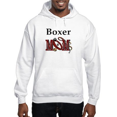 Boxer Mom Hooded Sweatshirt
