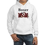Boxer Mom Hooded Sweatshirt