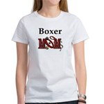 Boxer Mom Women's T-Shirt