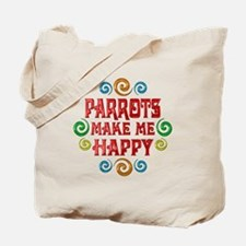 Parrot Happiness Tote Bag
