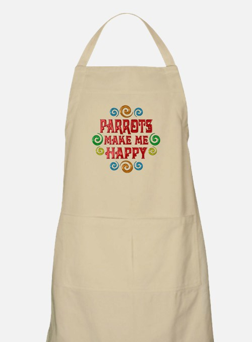 Parrot Happiness Apron