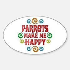 Parrot Happiness Decal
