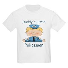 Daddy's Little Policeman T-Shirt
