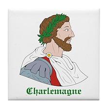 Charlemagne Tile Coaster