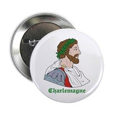 "Charlemagne 2.25"" Button (10 pack)"