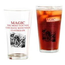 magic joke gifts Pint Glass