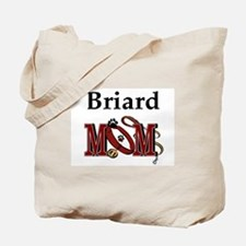 Briard Mom Tote Bag