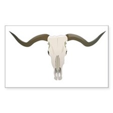 Longhorn Skull Symbol Decal