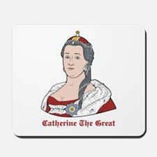 Catherine The Great Mousepad