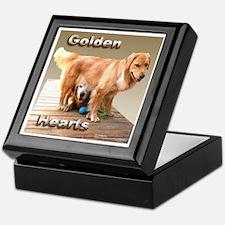 Golden Retriever Keepsake Box Mocha