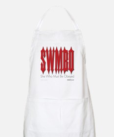 SWMBO: She Who Must Be Obeyed BBQ Apron