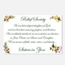 Relief Society Postcards (Package of 8)