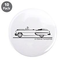 """1953 Chevrolet Convertible Bel Air 3.5"""" Button (10"""