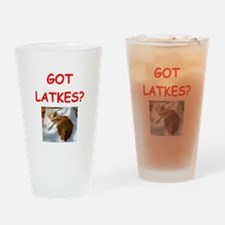 latkas gifts and t-shirts Pint Glass