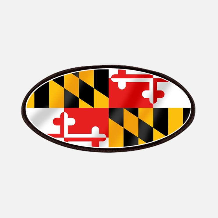 Flag of Maryland Patches
