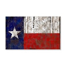 Texas Retro State Flag 22x14 Wall Peel