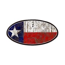 Texas Retro State Flag Patches