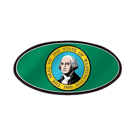 Washington State Flag Patches