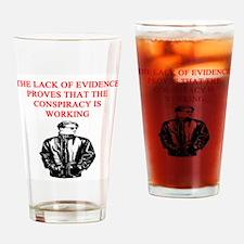 conspiracy theory Pint Glass