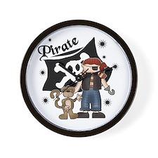 Pirate's Life Wall Clock