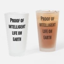 Intelligent Life Pint Glass