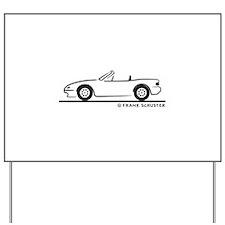 Miata MX-5 Yard Sign