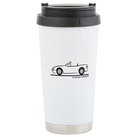 Miata MX-5 Stainless Steel Travel Mug