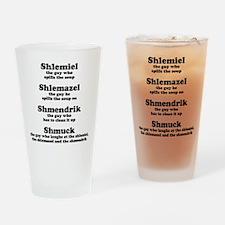 Shlemiel Shlemazel Pint Glass