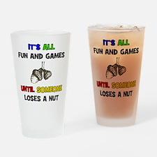 Fun & Games - Nut Pint Glass
