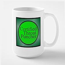 certified throat puncher Mugs