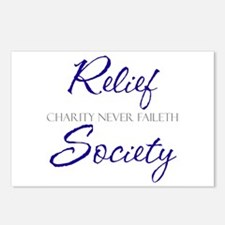 RS Charity Never Faileth Postcards (Package of 8)
