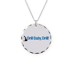 Drill Baby, Drill! Necklace