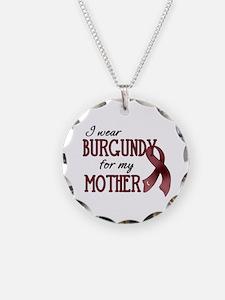 Wear Burgundy - Mother Necklace