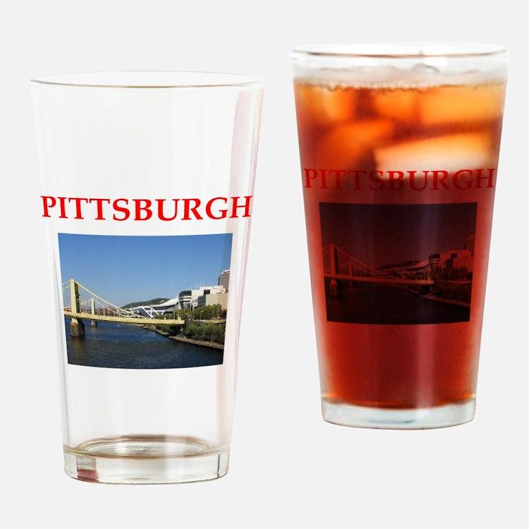 pittsburgh Pint Glass