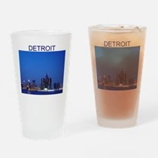 detroit Pint Glass