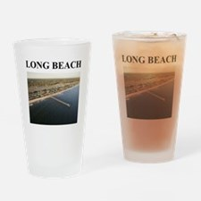 long beach gifts and t-shirts Pint Glass