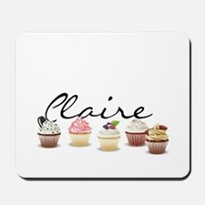 Cupcake Claire Mousepad