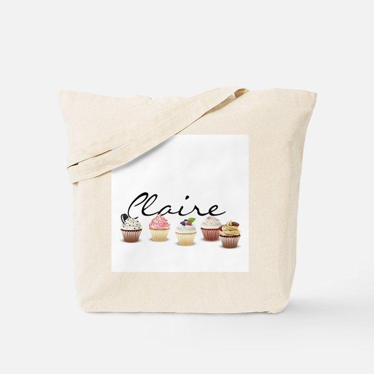 Cupcake Claire Tote Bag