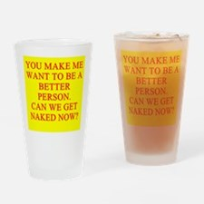 let's get naked Pint Glass