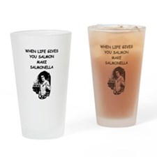 salmonella salmon Pint Glass