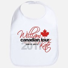 Will & Kate Canadian Visit Bib