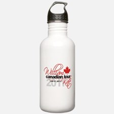 Will & Kate Canadian Visit Water Bottle