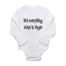Not Everything Stays in Vegas Long Sleeve Infant B