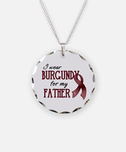 Wear Burgundy - Father Necklace