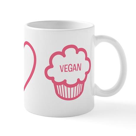 Peace, Love & Vegan Cupcakes Mug